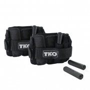 5 lb TKO Adjustable Wrist/Ankle Weights, Pair
