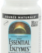 Source Naturals Essential Enzymes, 500mg, 60 Vcaps