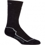 Icebreaker Women's Hike + Mid Crew Socks, Jet/Silver/Black, Small