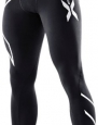 2XU Men's Thermal Compression Tights (Black/Black, XX-Large)