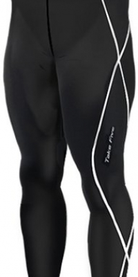 New 011 Take Five Skin Tights Compression Leggings Base Layer Black Running Pants Mens S - 3xl (3XL)
