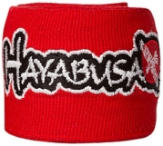 Hayabusa Perfect Stretch Hand Wraps, One Size, Red