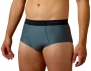 ExOfficio Men's Give-N-Go Brief,Charcoal,Small