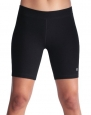 Champion Double Dry® Cotton-Rich FITTED 7 Women's Bike Shorts, L-Black
