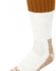 Carhartt Men's Extremes Cold Weather Boot Sock,Brown,Medium