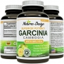 80% HCA Pure Garcinia Cambogia Extract - Highest Grade for Weight Loss ★ Appetite Suppressant ★ Best Premium Quality As Experts Recommend ★ Potent Strength & Fully Guaranteed Natures Design
