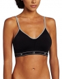 Champion Women's All Day Sports Bra, 22W Black/Metal, Medium