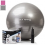 Silver Exercise Ball, GYM QUALITY by DynaPro Direct, More colors available