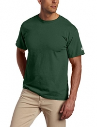 Russell Athletic Men's Basic T-Shirt, Dark Green, Small