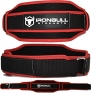 Iron Bull Weight Lifting Belt - Heavy Duty/Light Weight - High Performance Back Support Protection (Large)