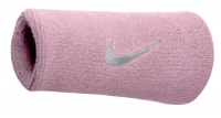 Nike Swoosh Doublewide Wristbands (Perfect Pink/White, Osfm)