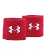 Under Armour Men's 3 Performance Wristbands, Red (600), One Size