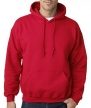Gildan Mens Heavy Blend Hooded Sweatshirt (Cardinal Red) (Small)