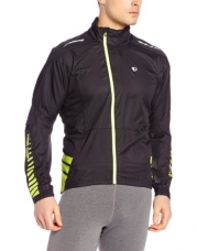 Pearl Izumi Men's Elite Barrier Jacket, Large, Black
