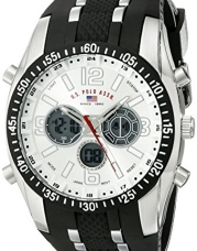 U.S. Polo Assn. Sport Men's US9061 Watch with Black Rubber Strap Watch