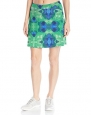 Skirt Sports Women's Happy Girl Skirt, Running Skirt with Shorts, Emerald City Print, XS